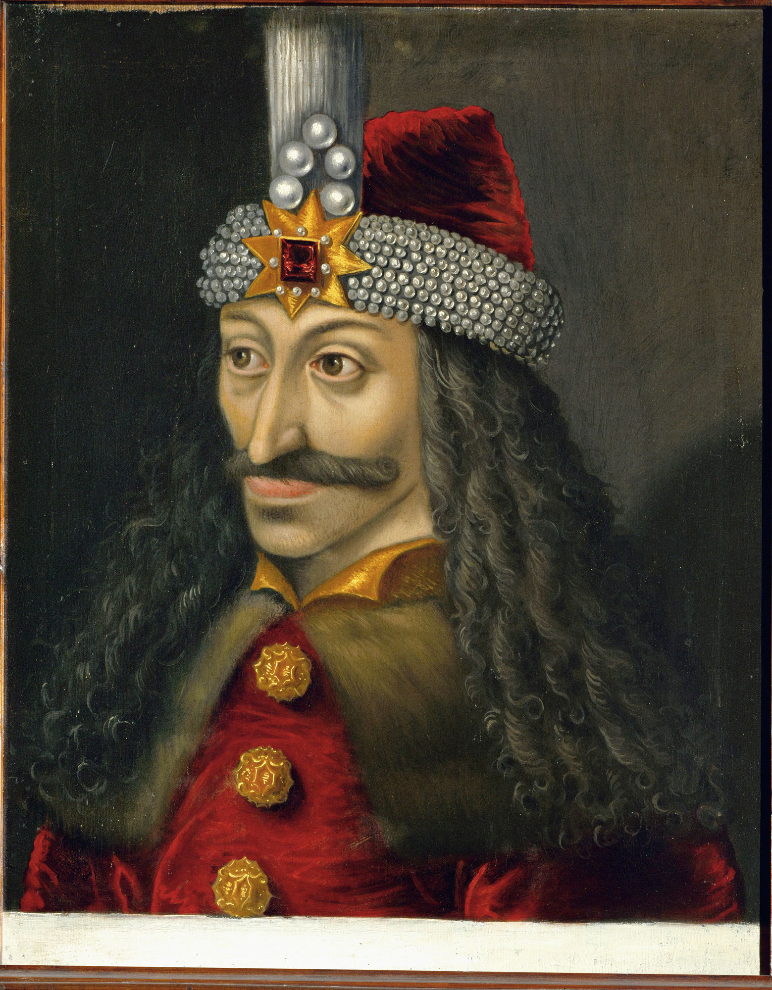 15th century portrait of Vlad III, Prince of Wallachia