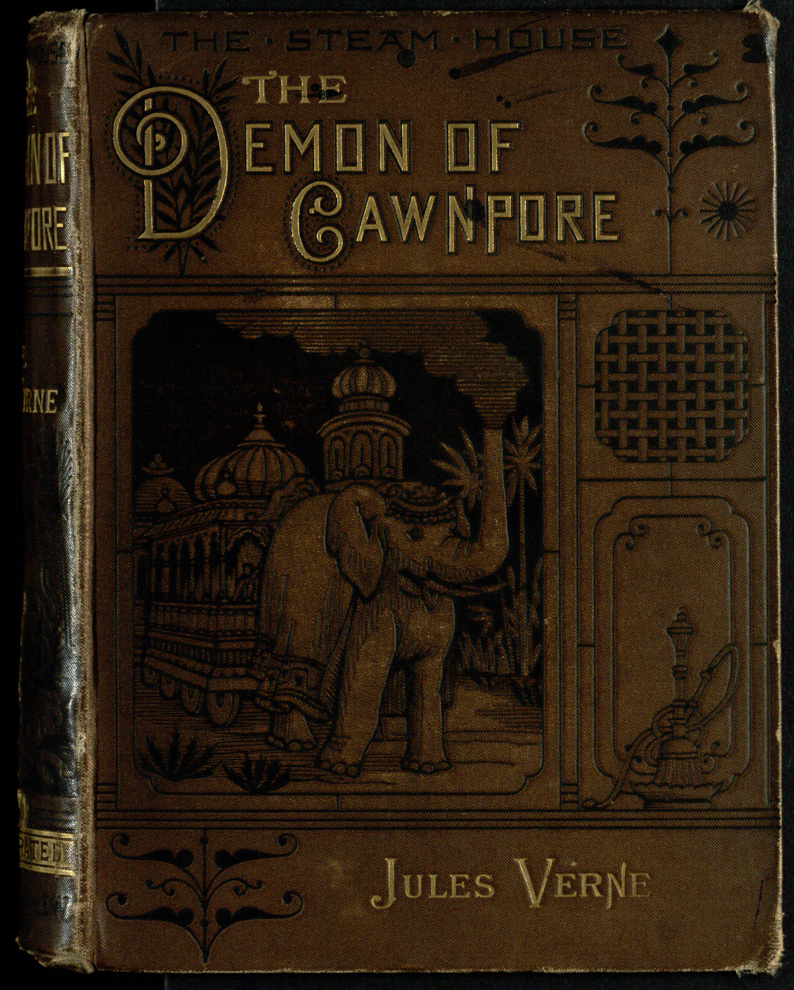 Science fiction novel, The Steam House, Part I: The Demon of Cawnpore