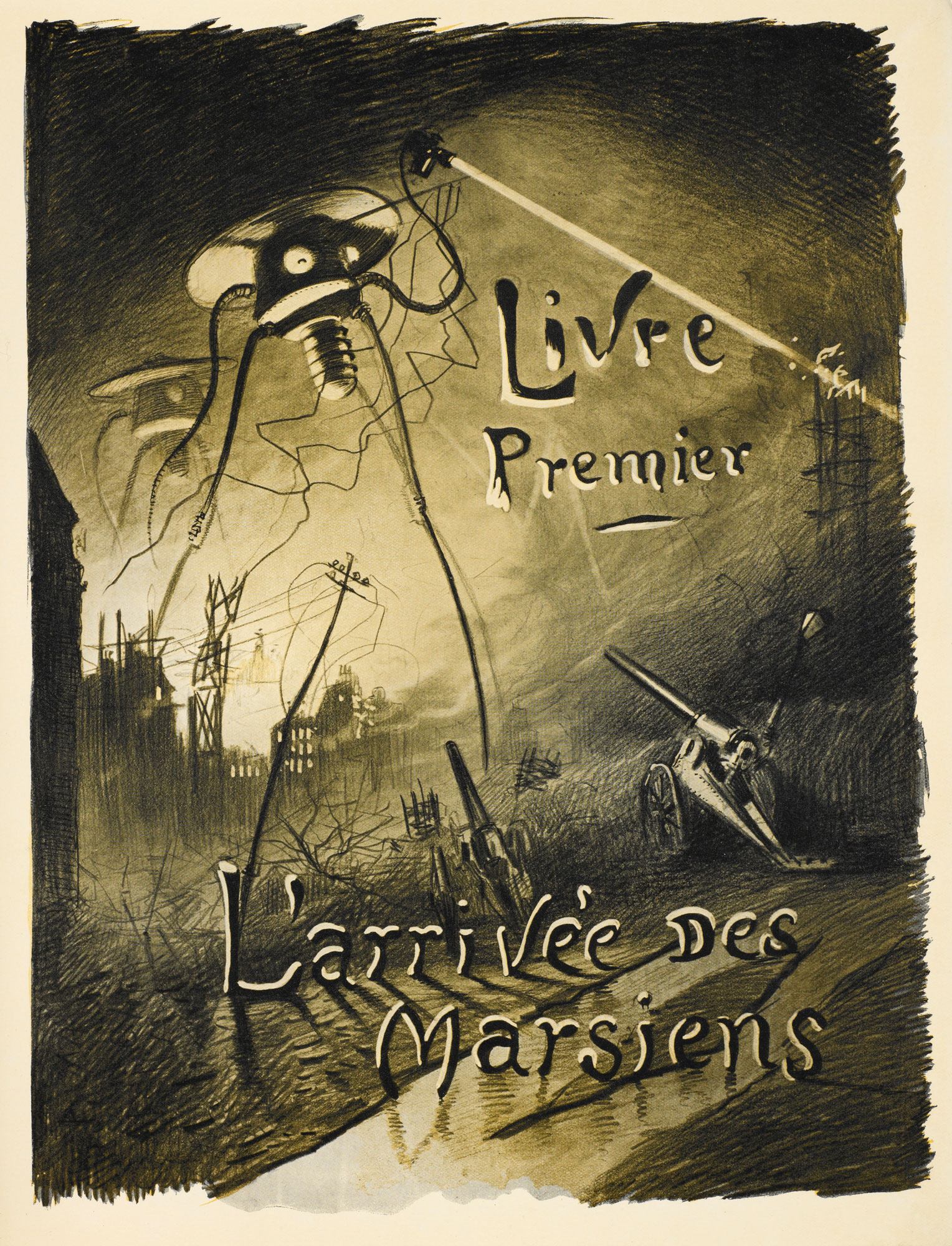 The War of the Worlds illustrated by Henrique Alvim-Corrêa