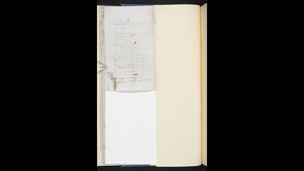 Manuscript of 'Composed Upon Westminster Bridge, September 3, 1802' by William Wordsworth