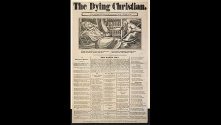 Broadside: The Dying Christian