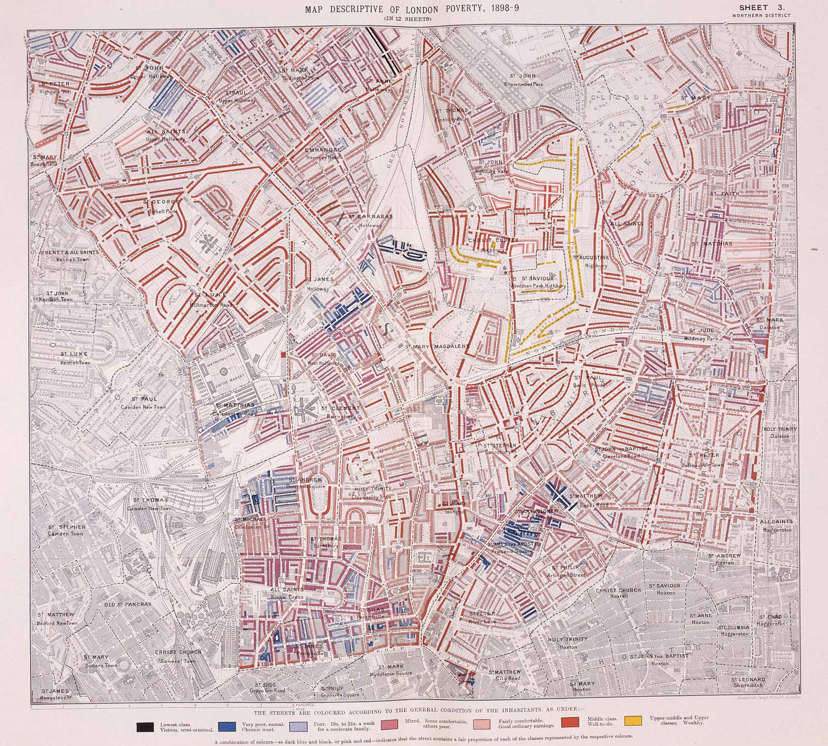 Charles Booth S London Poverty Map The British Library