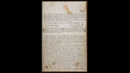 Brontë juvenilia: The History of Angria [folio: 1r]
