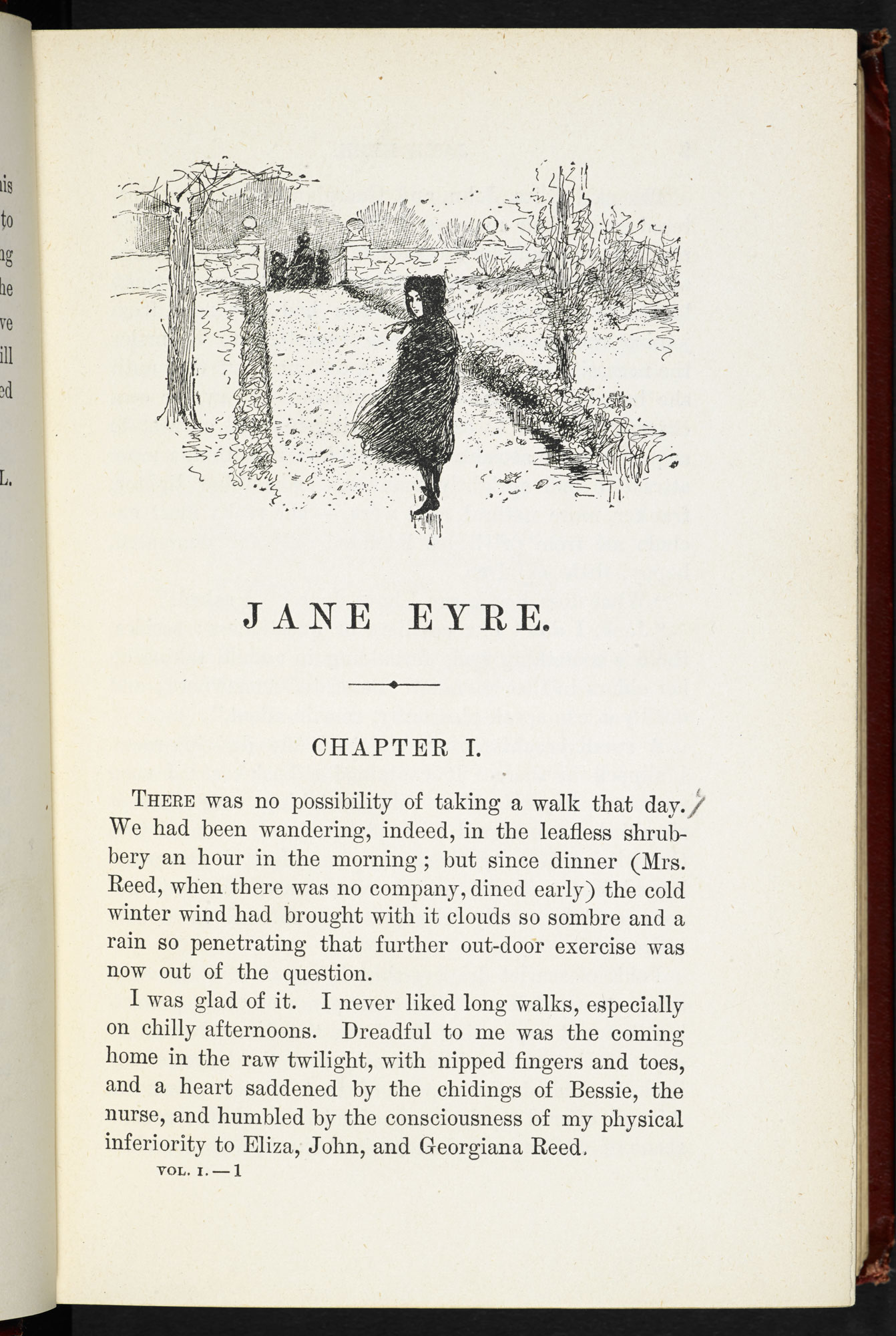 Edmund Garrett's illustrations to Jane Eyre [page: part I p. [1]]