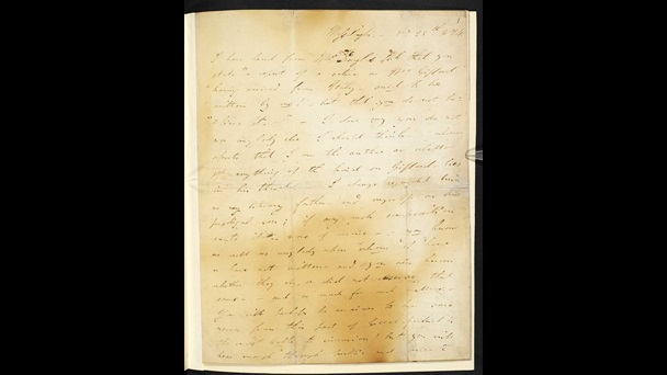 Letter from Lord Byron to John Murray, giving an account of war