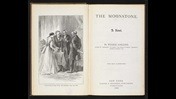 Wilkie Collins, The Moonstone [page: frontispiece and title page]