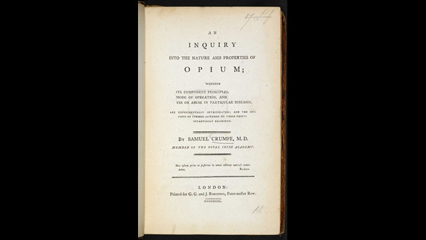 An Inquiry into the Nature and Properties of Opium