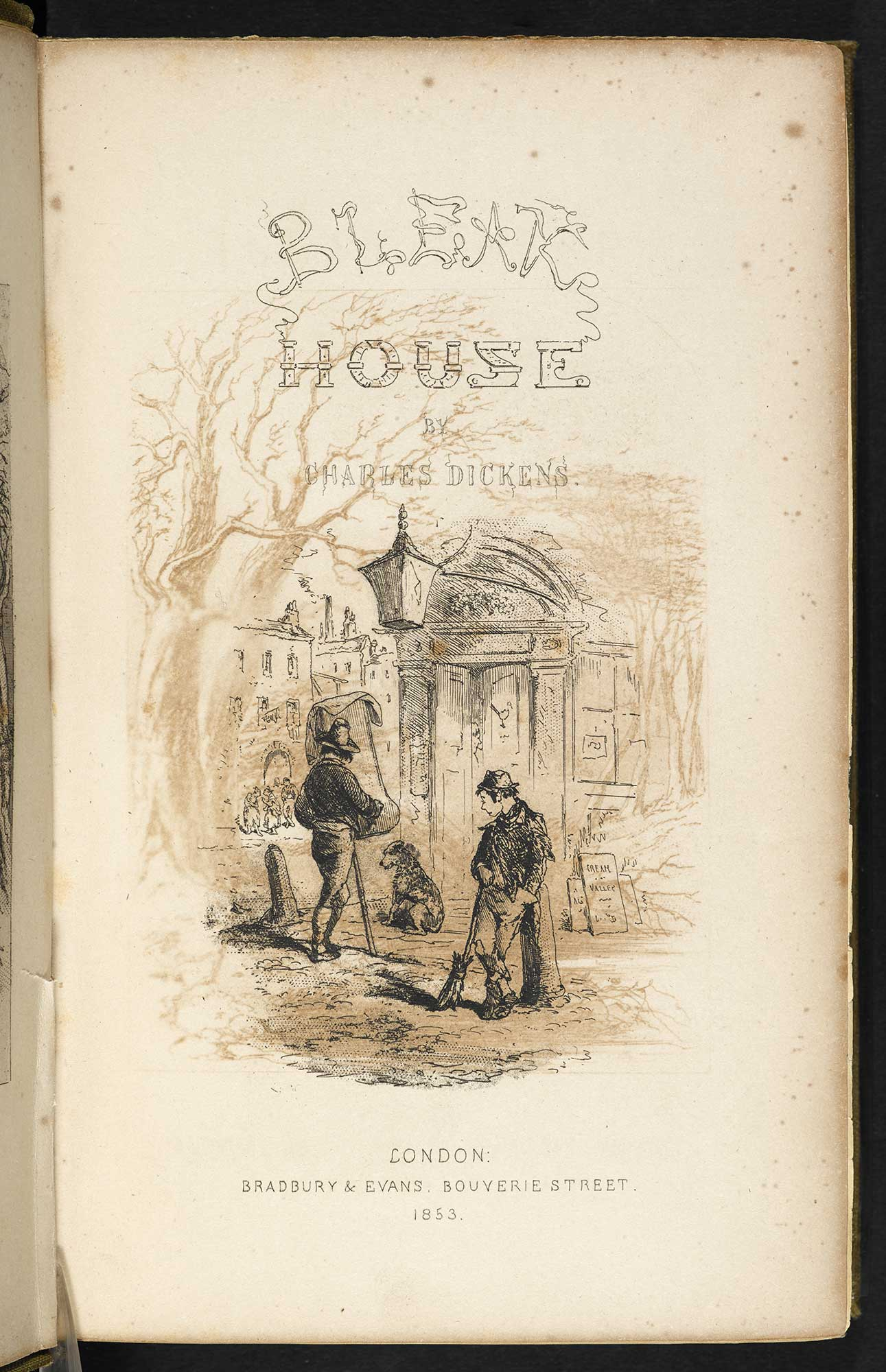 Bleak House first edition with illustrations [page: [1]]