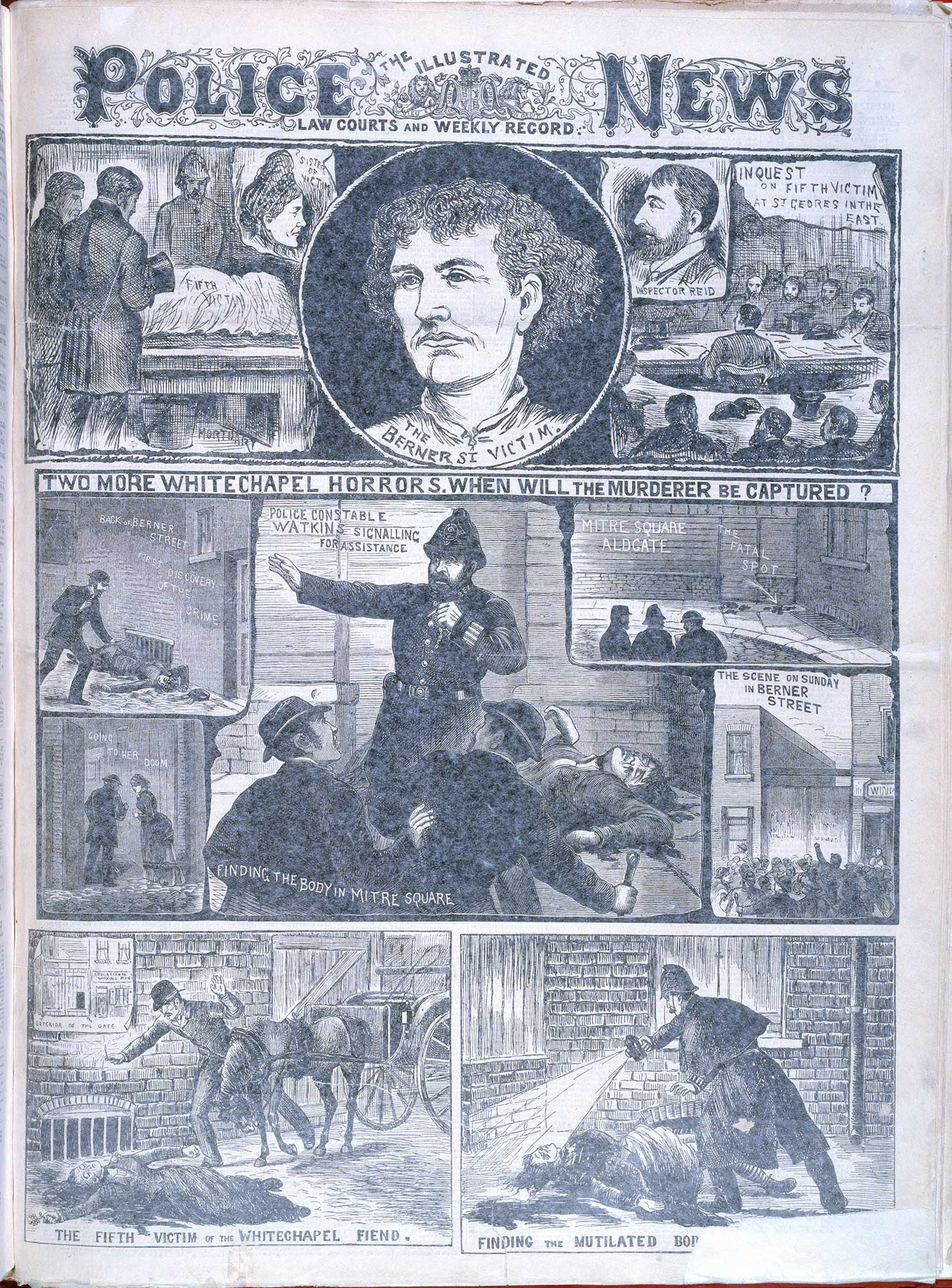 Two more Whitechapel murders' from the Illustrated Police News [page: [1]]
