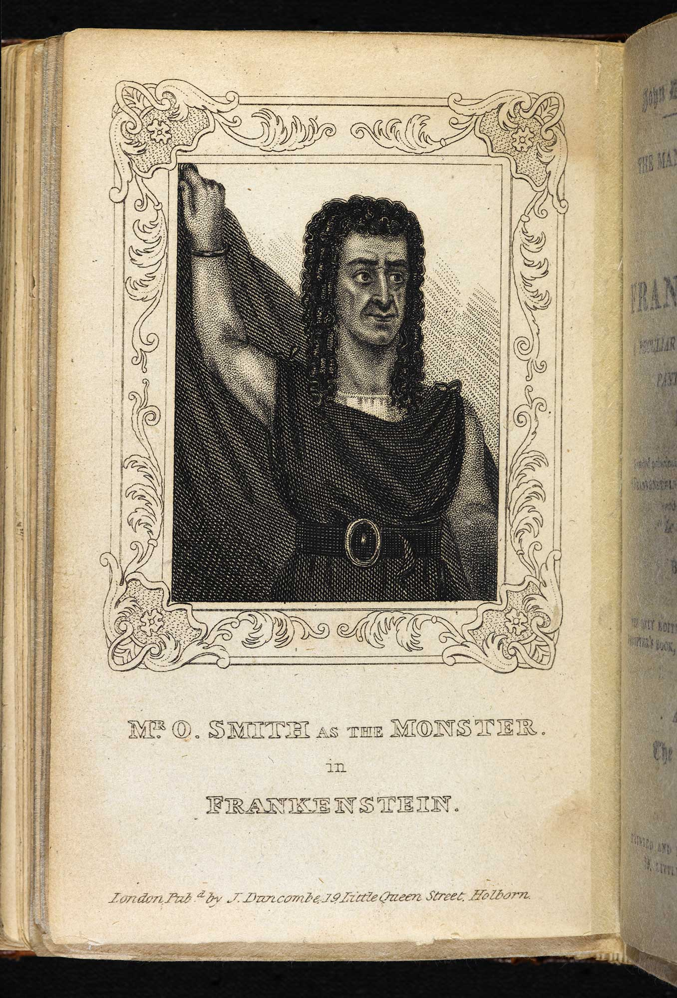 The Man and the Monster! Or, the Fate of Frankenstein [page: frontispiece]