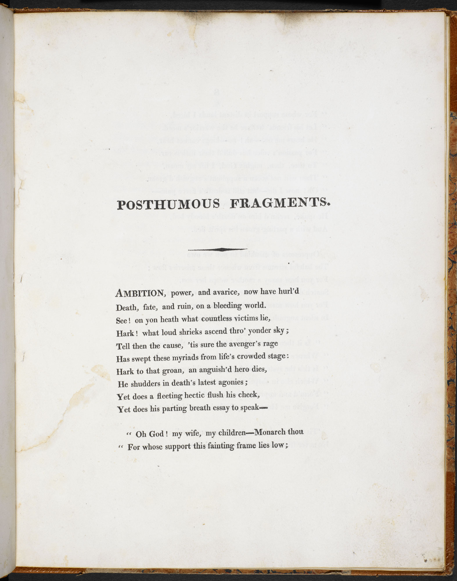 Posthumous Fragments of Margaret Nicholson by Percy Bysshe Shelley and Thomas Jefferson Hogg [page: 7]