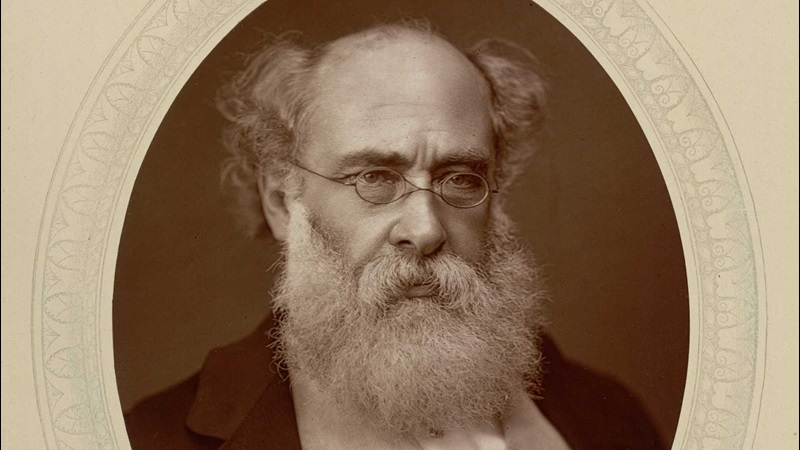 Anthony Trollope by Lock and Whitfield, British Library