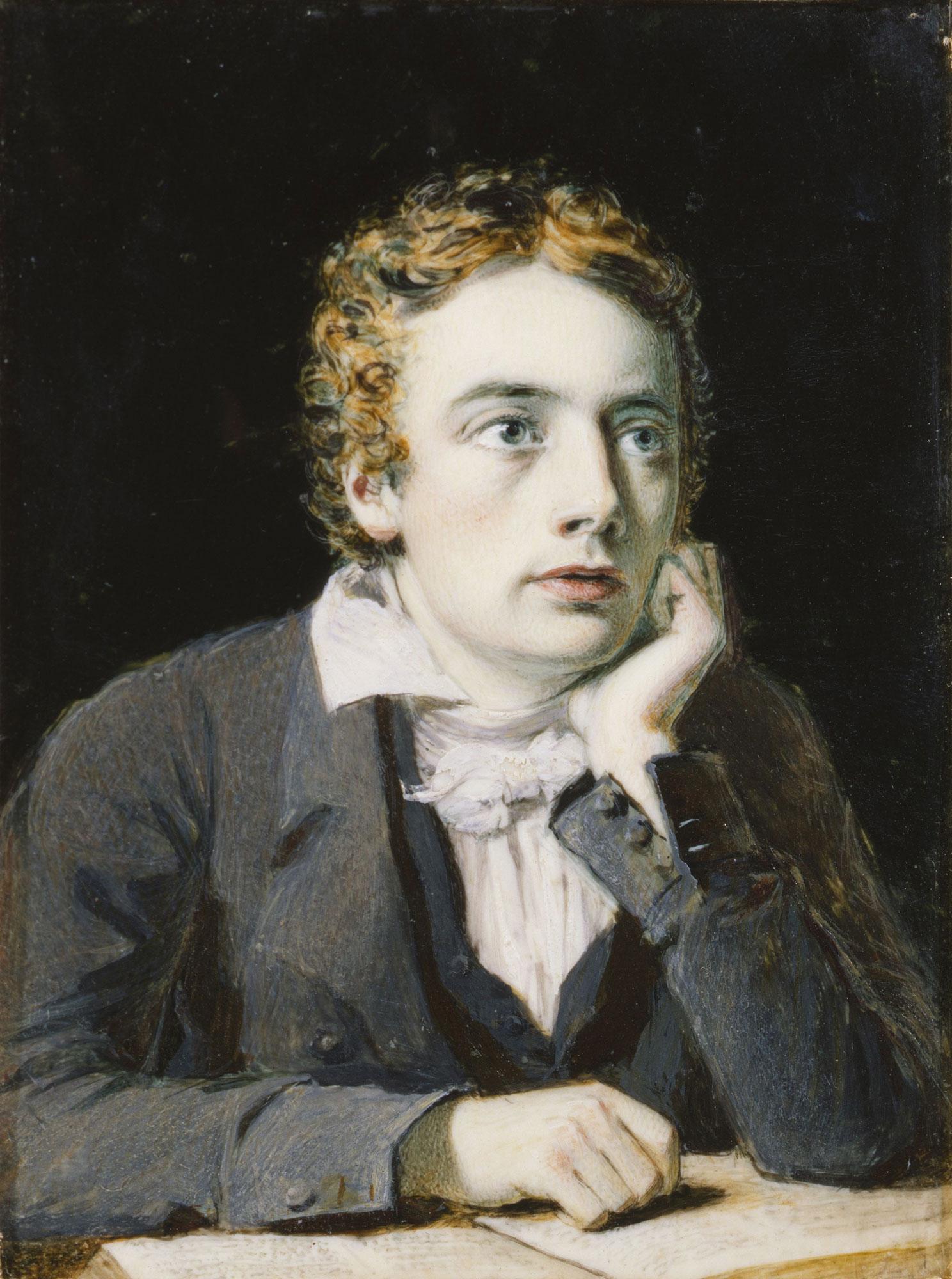 John Keats to autumn