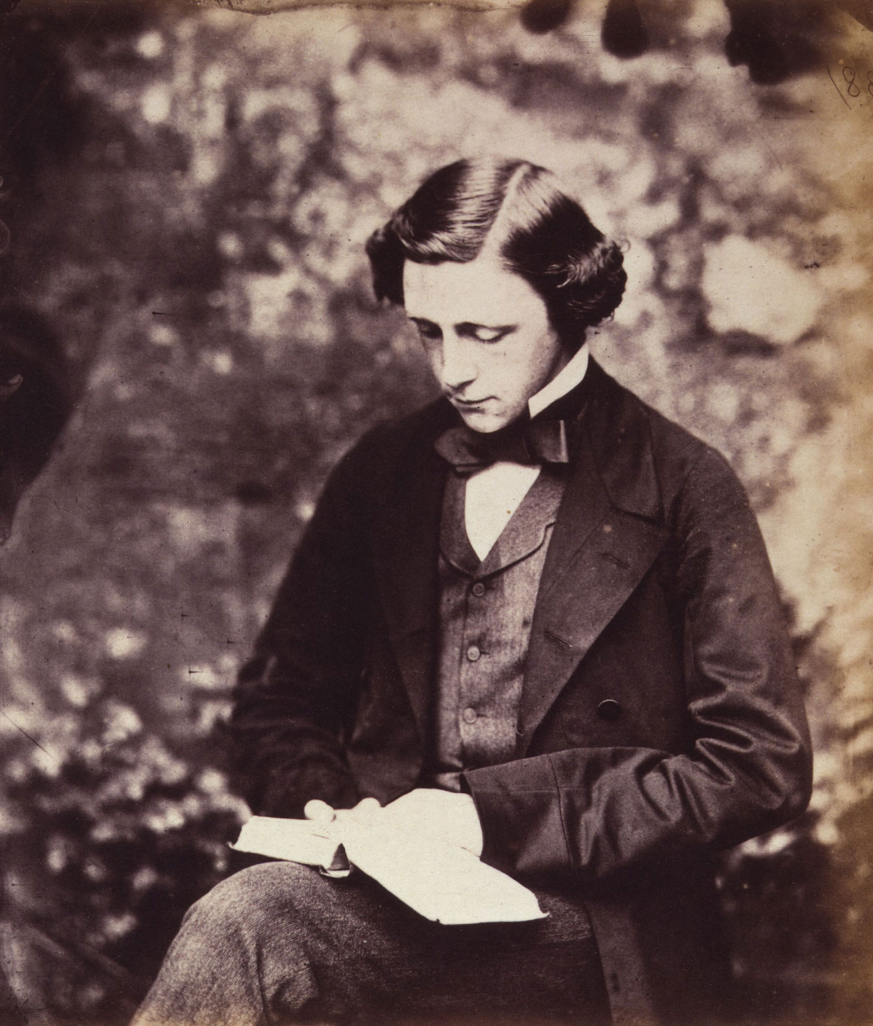 Lewis Carroll (Charles Lutwidge Dodgson), author of Alice's Adventures in Wonderland. Photograph portrait © National Portrait Gallery, London.