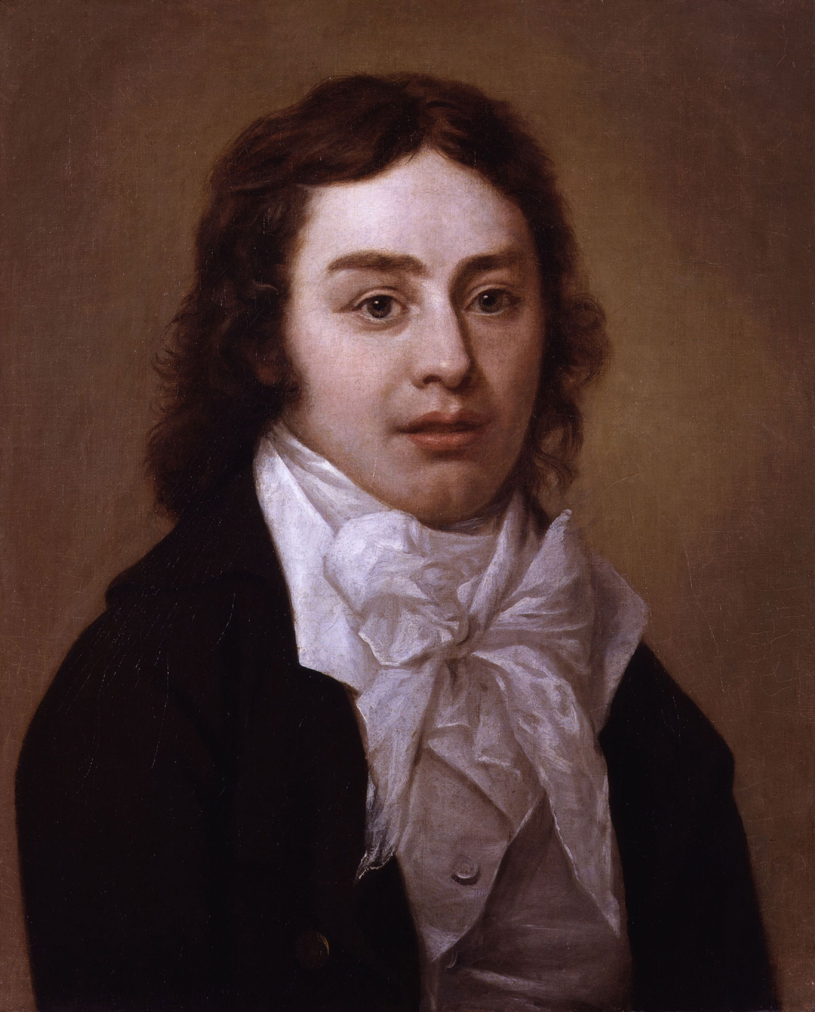 Samuel Taylor Coleridge, author of 'Kubla Khan' and 'Christabel'. Portrait by Peter Vandyke © National Portrait Gallery, London.