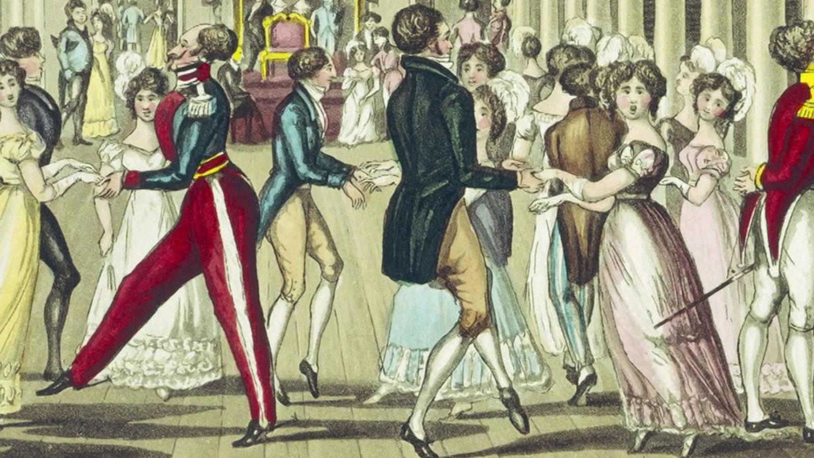 Jane Austen - Public and private space