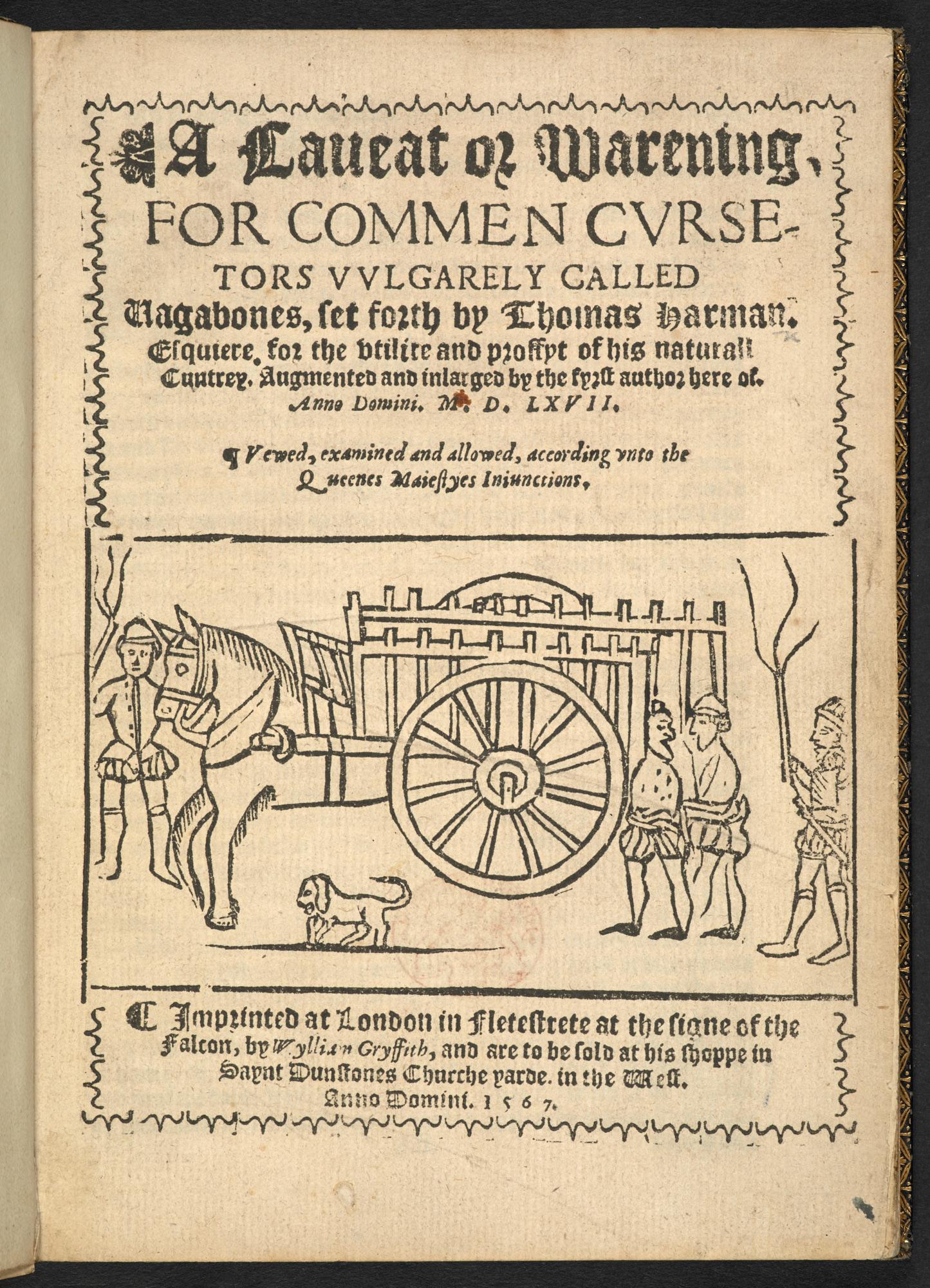 A Caveat for Common Cursetors, 1567