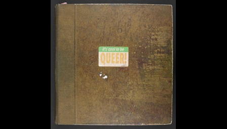 Derek Jarman's 'Queer' sketchbook