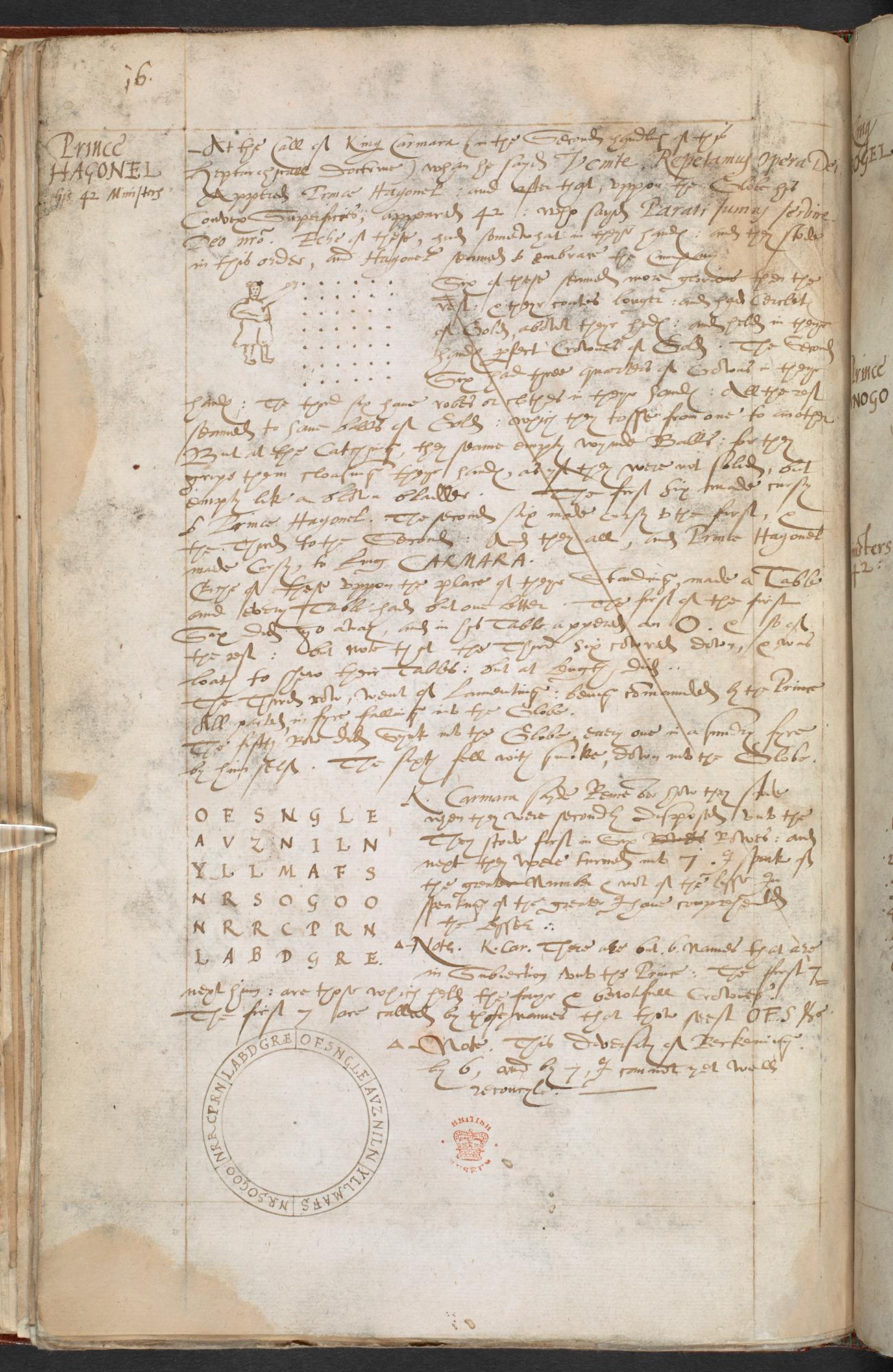 John Dee's De Heptarchia Mystica, a guide to summoning angels, 1582