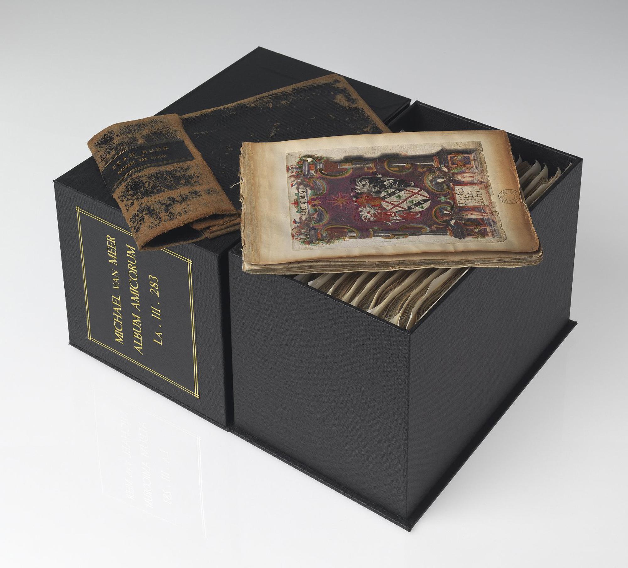 Paintings of London in the friendship album of Michael van Meer, 1614-15