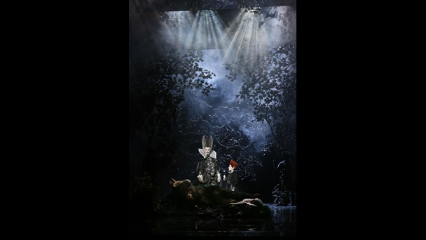 Benjamin Britten's A Midsummer Night's Dream as performed at Glyndebourne Festival Opera 2016