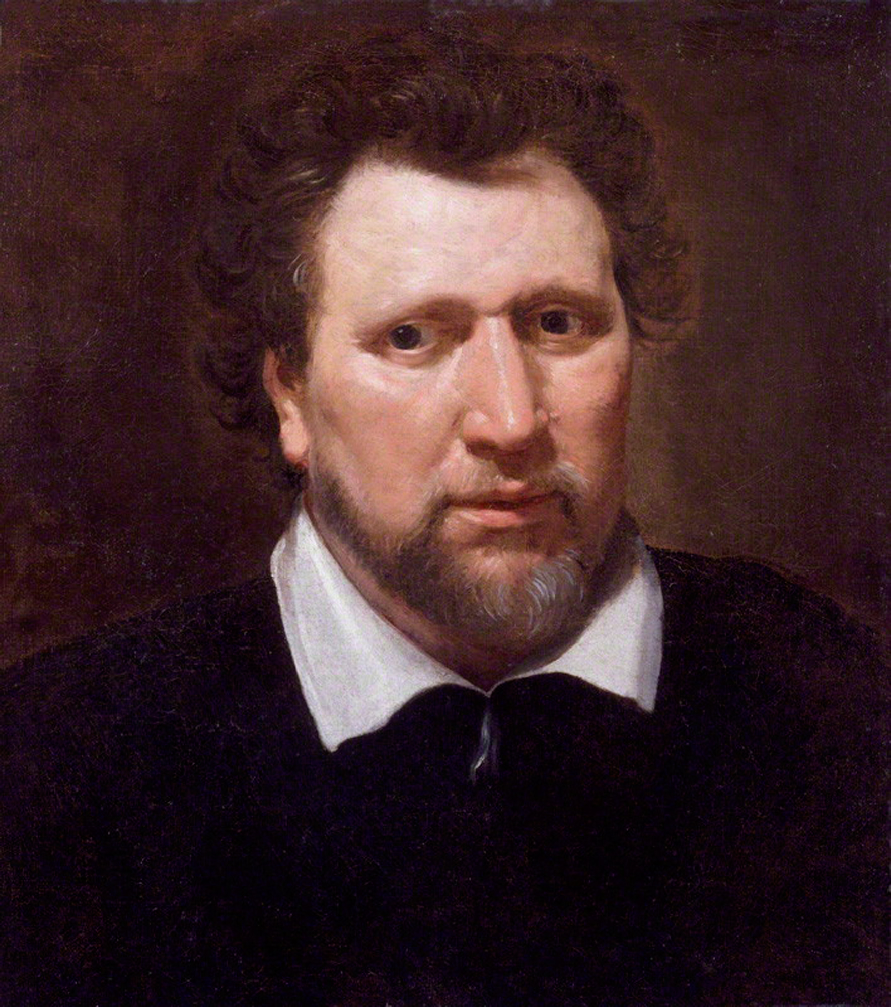 Portrait of Ben Jonson, c. 1617