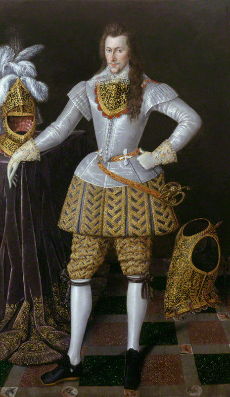 Portrait of Henry Wriothesley, 3rd Earl of Southampton, c. 1600