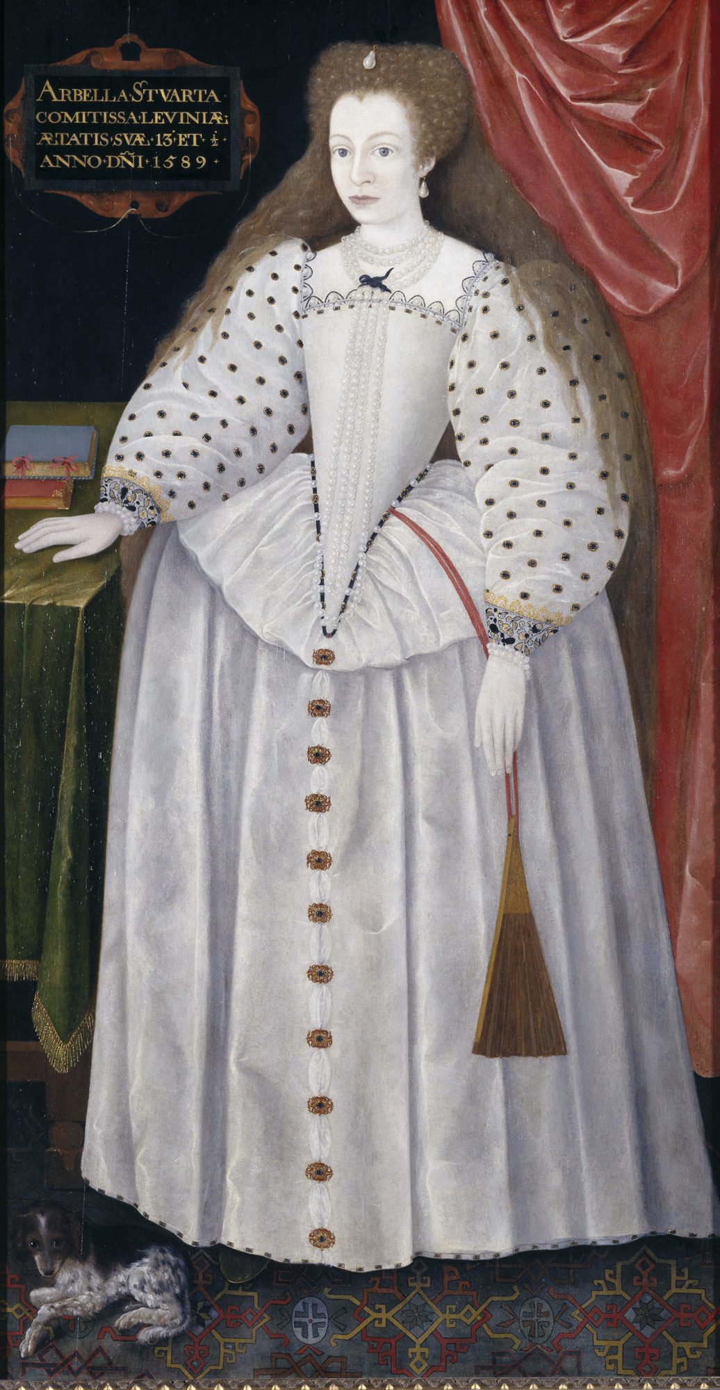 Portrait of Lady Arbella Stuart, 1589