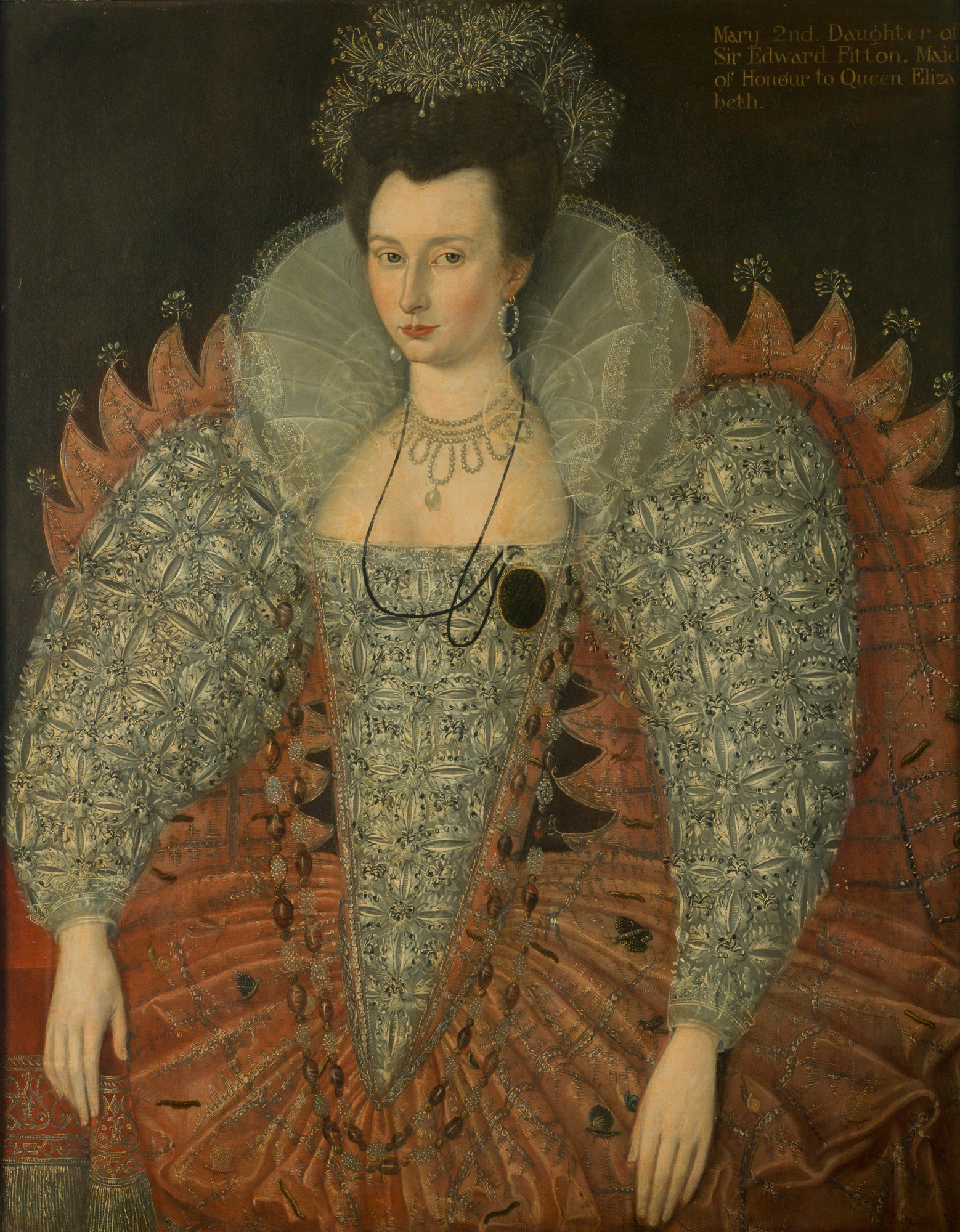 Portrait of Mary Fitton, c. 1595
