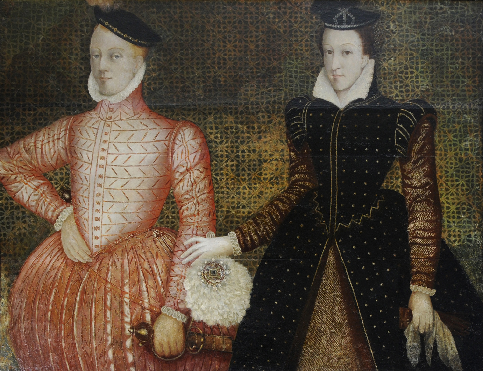 Portrait of Mary Queen of Scots and Lord Darnley c. 1565