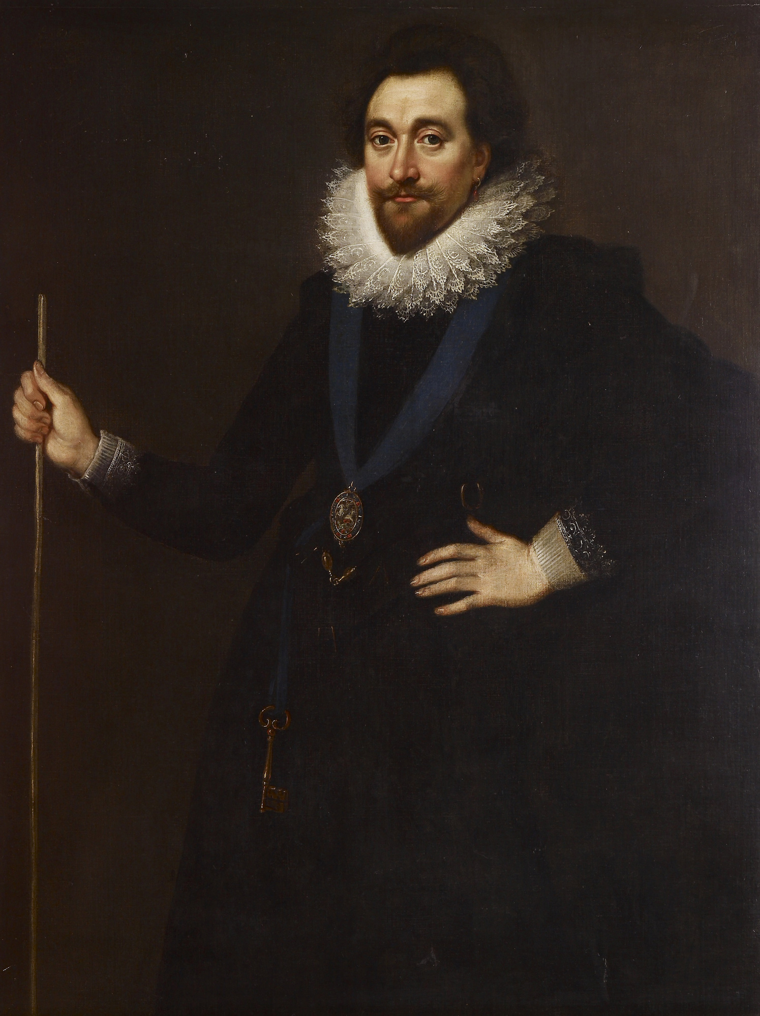 Portrait of Henry Wriothesley, 3rd Earl of Southampton, c  1600
