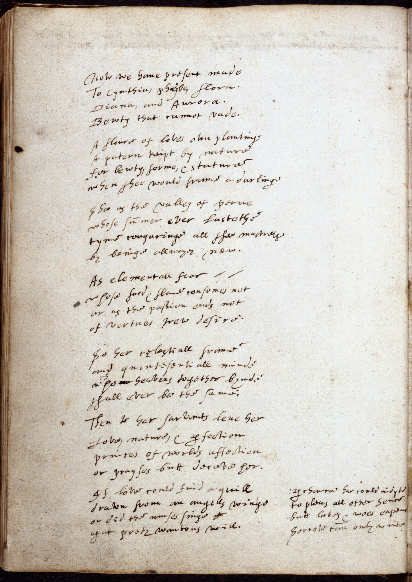 Love poetry in Renaissance England - The British Library