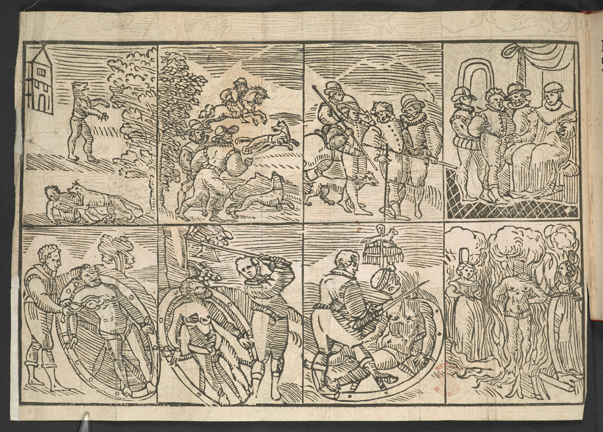 The Damnable Life and Death of Stubbe Peeter, a Werewolf 1590