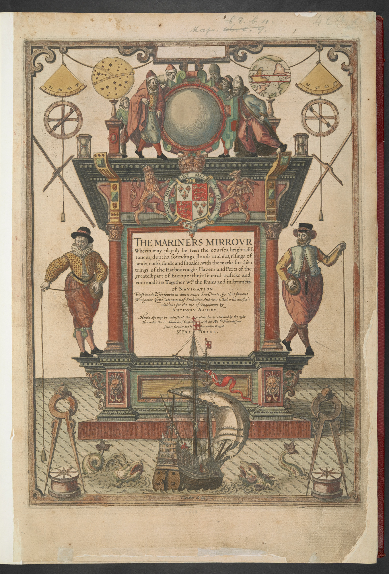 The Mariner's Mirrour, 1588