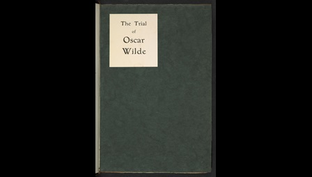 The Trial of Oscar Wilde, printed in 1906