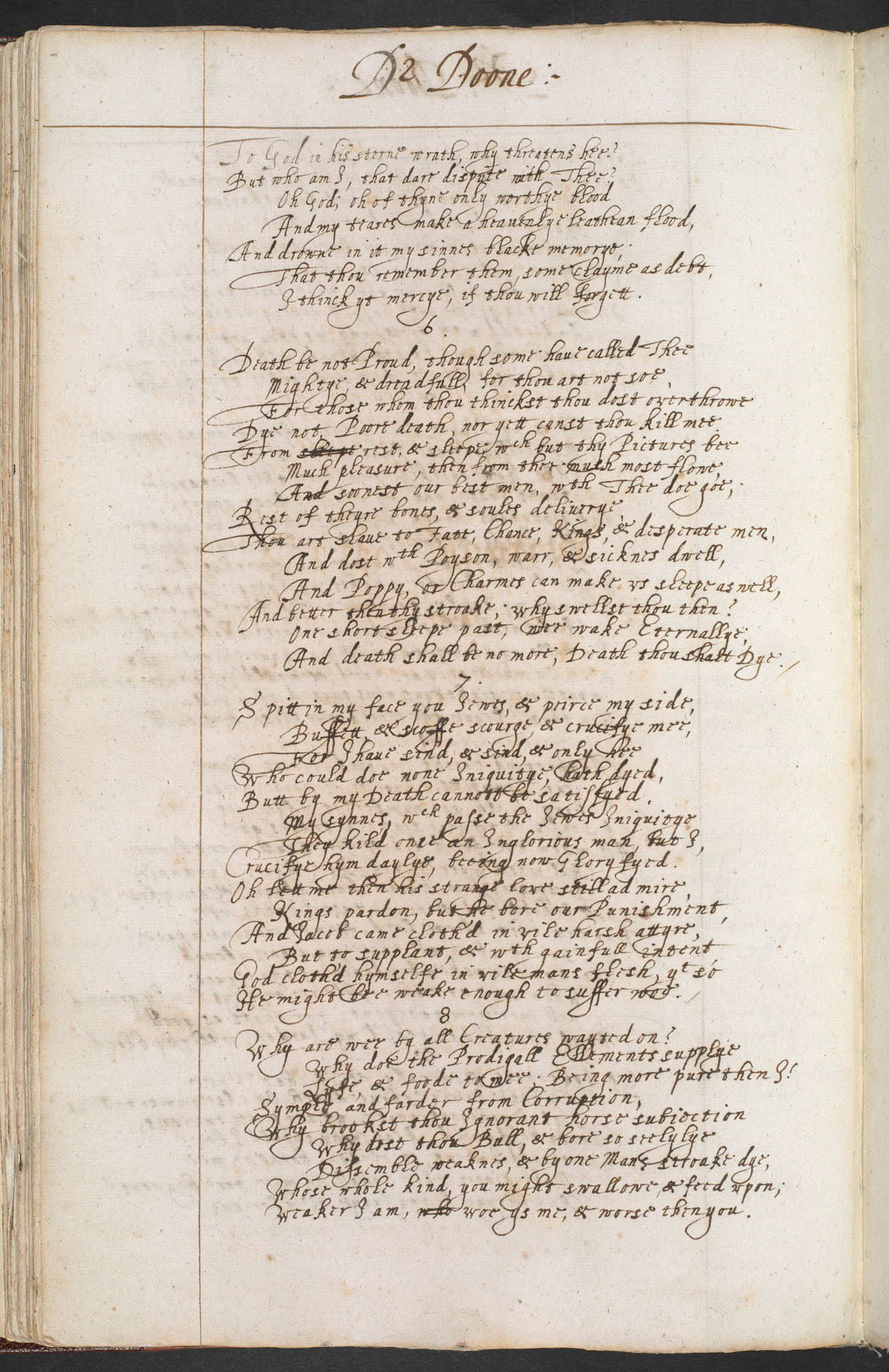 I am every dead thing': John Donne and death - The British Library