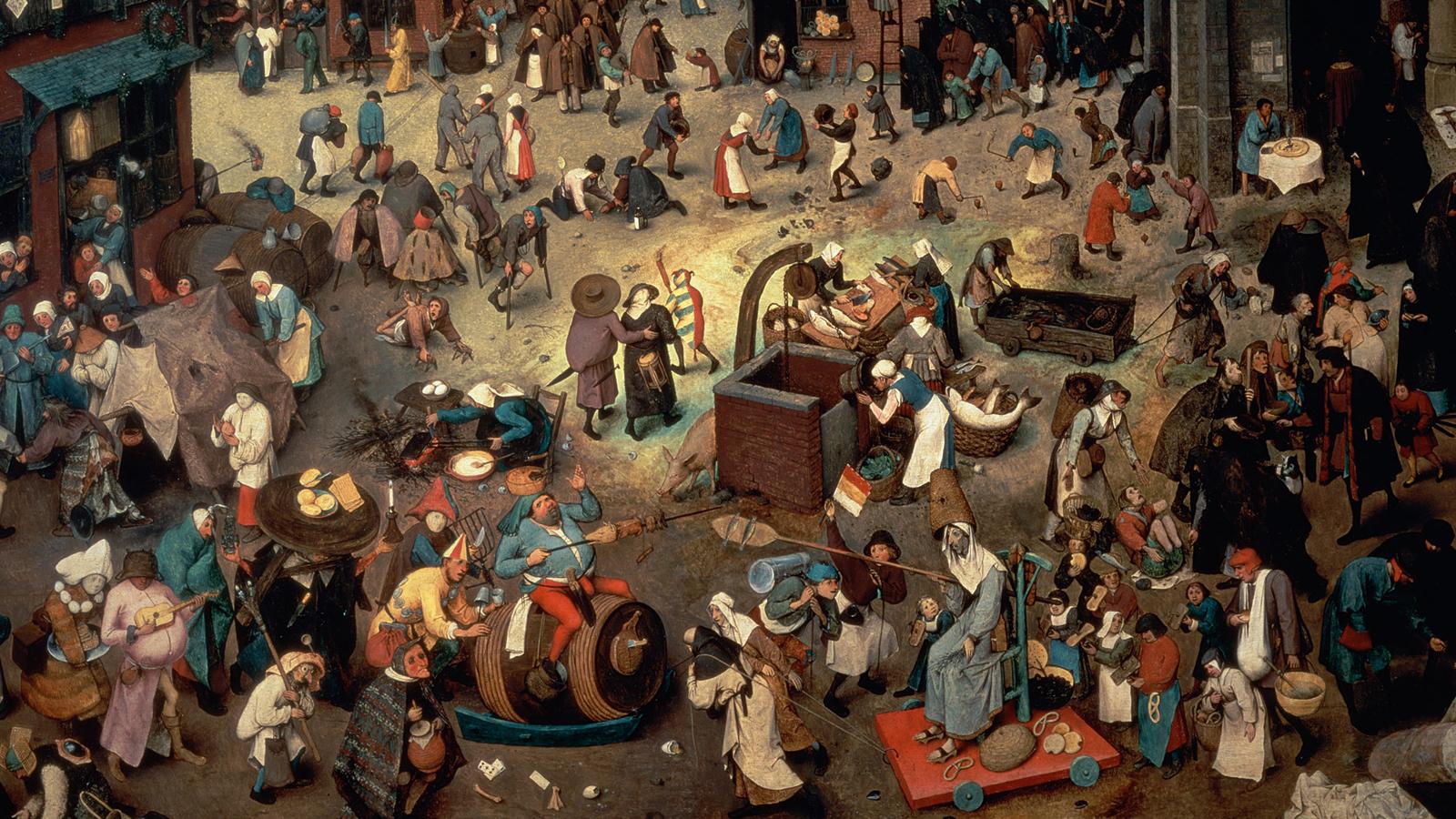 Festivity, dressing up and misrule in Twelfth Night