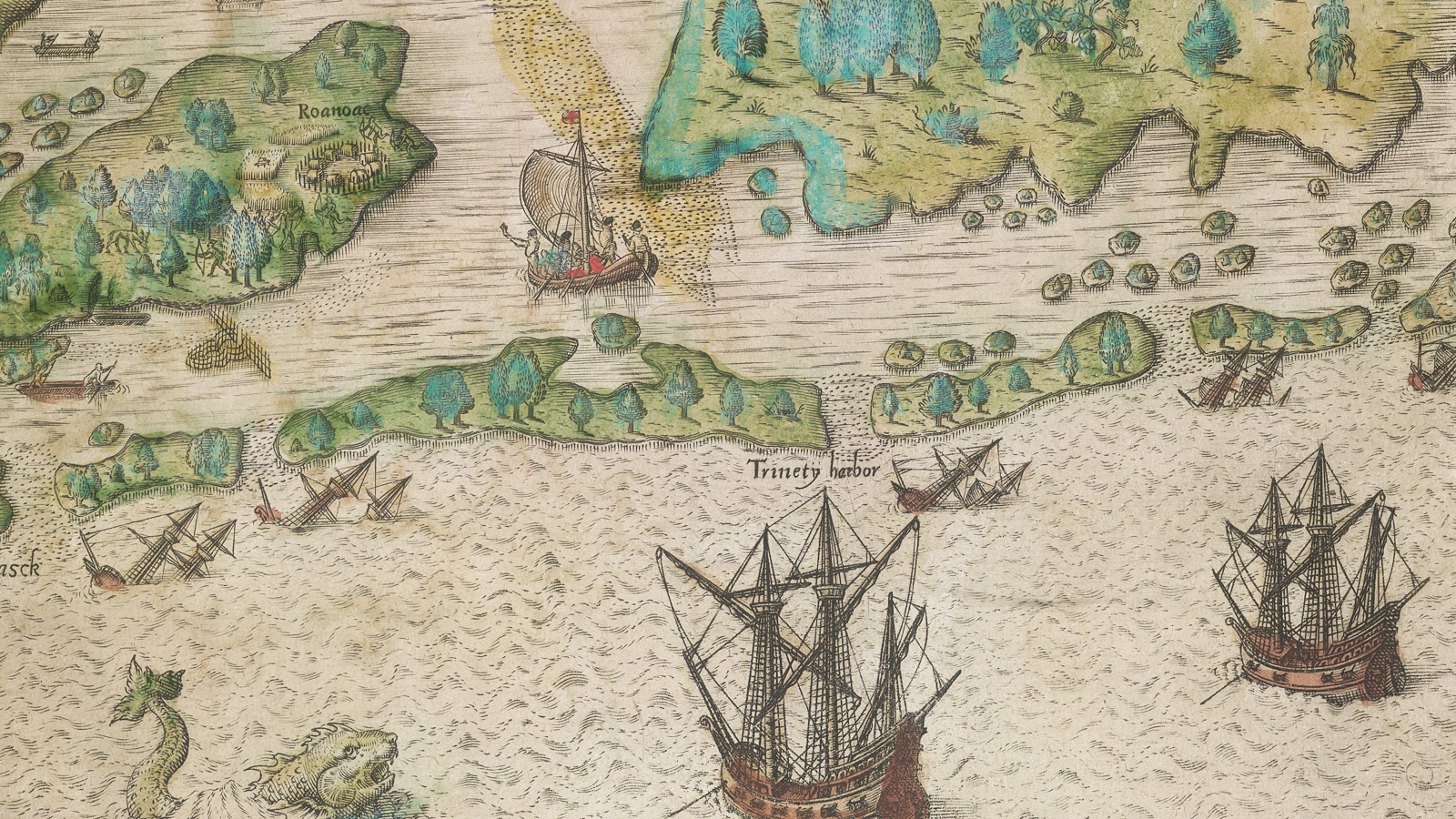 Exploration and trade in Elizabethan England
