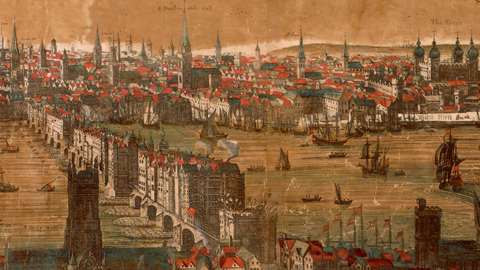 Cities in Elizabethan England