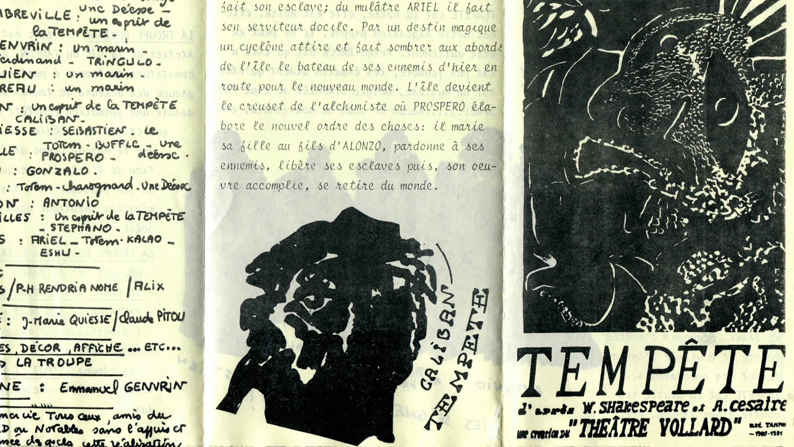 Post-colonial reading of The Tempest