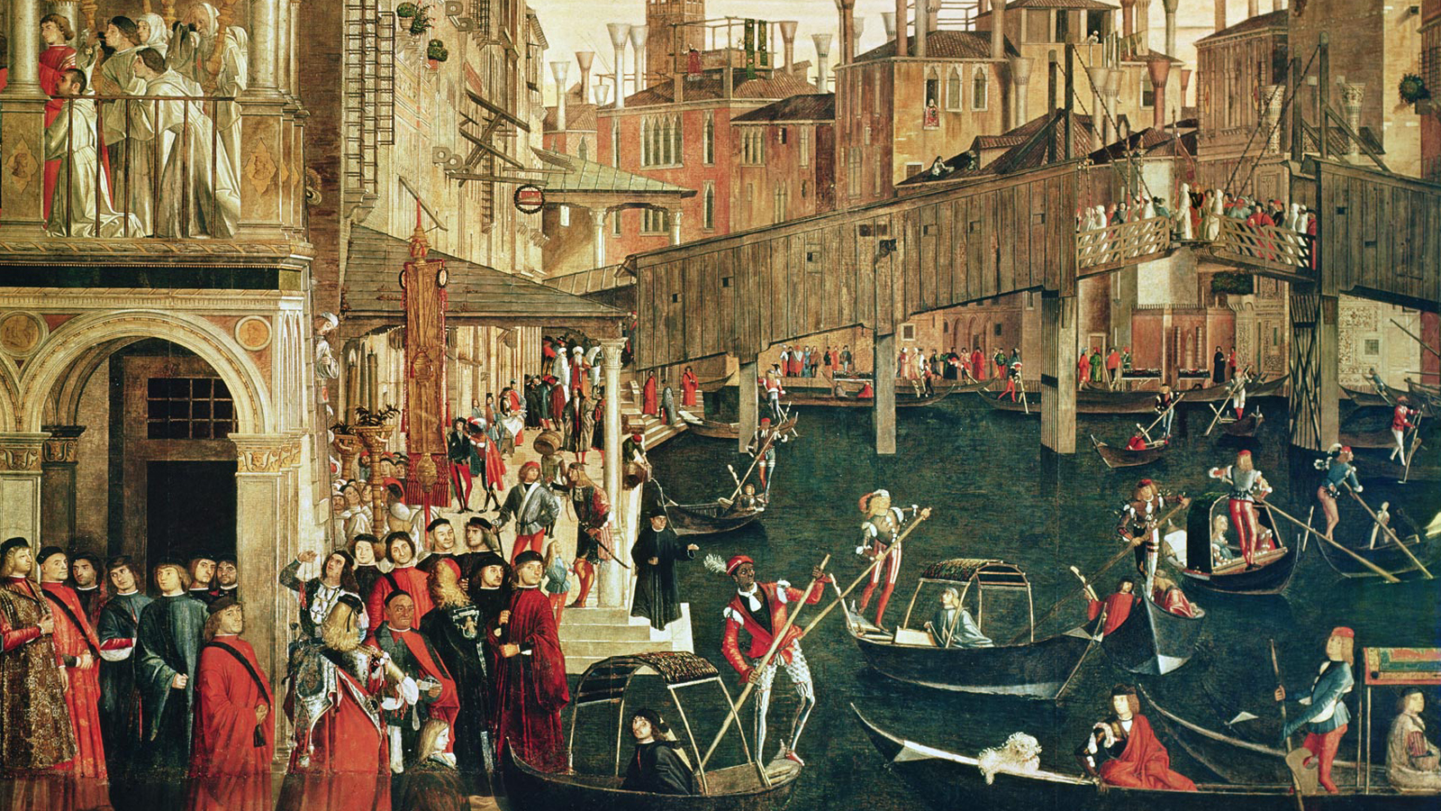 Strangers in the city: the cosmopolitan nature of 16th-century Venice