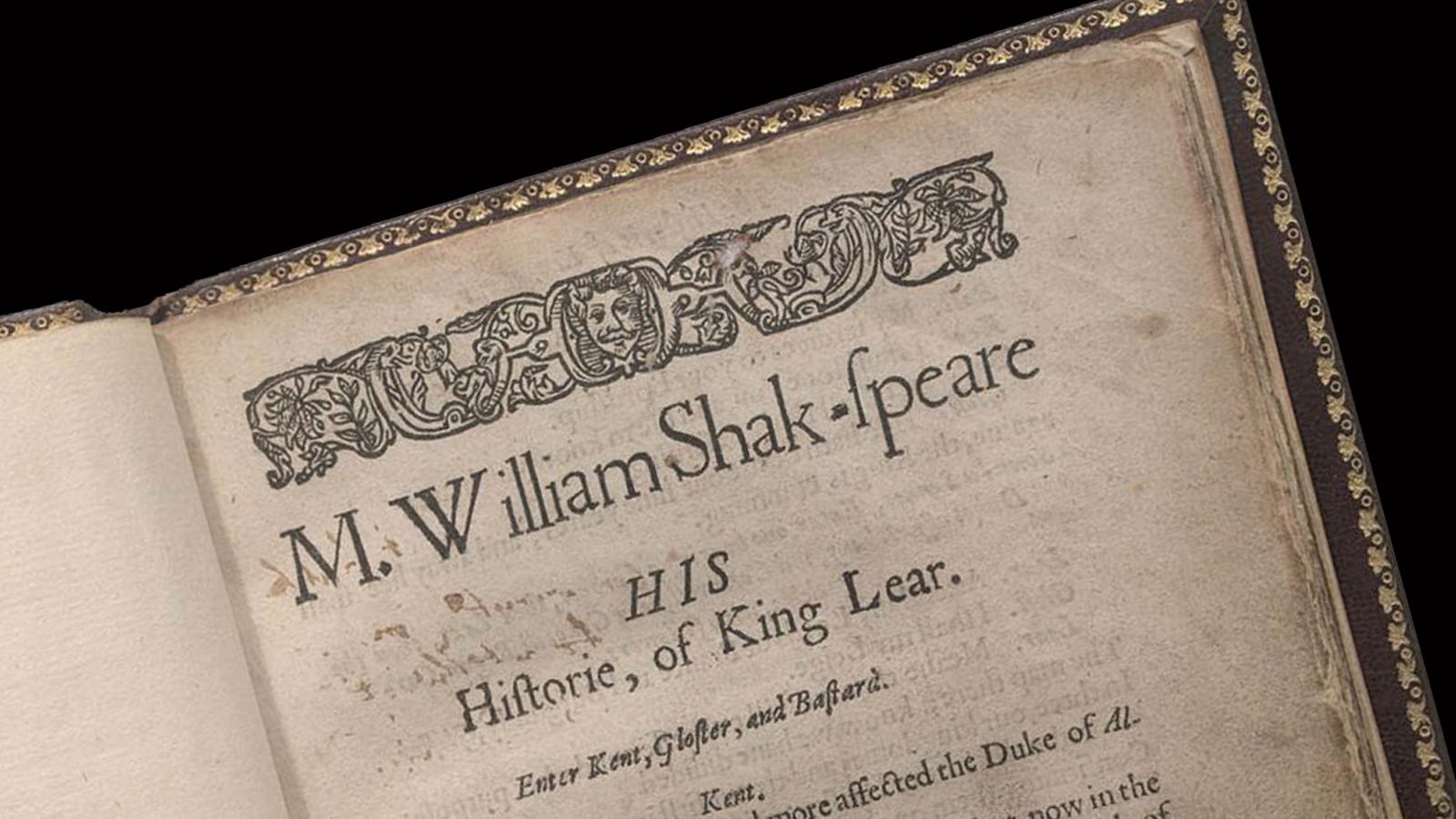 Shakespeare textual bodies