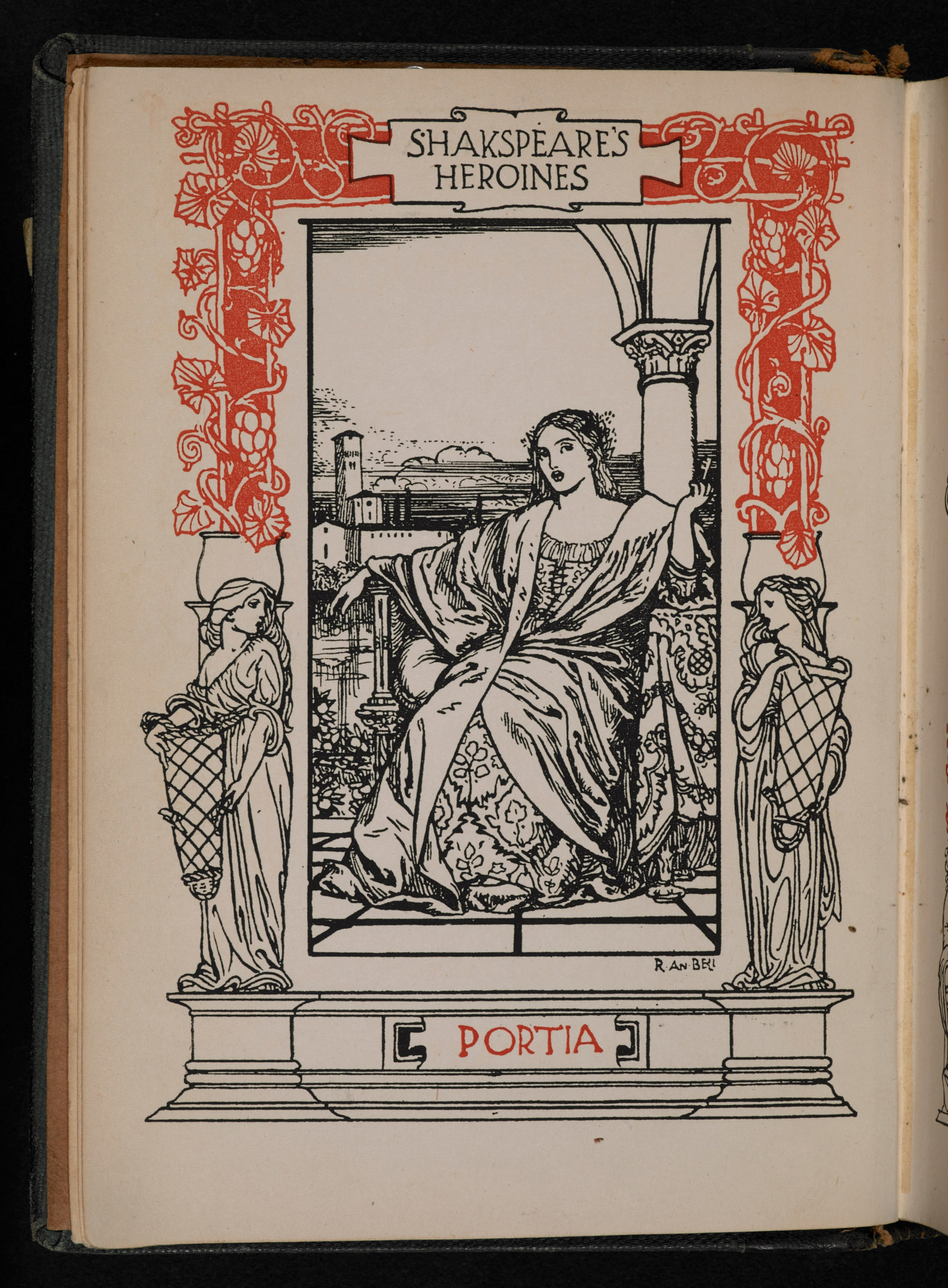 1901 edition of Anna Jameson's Shakespeare's Heroines