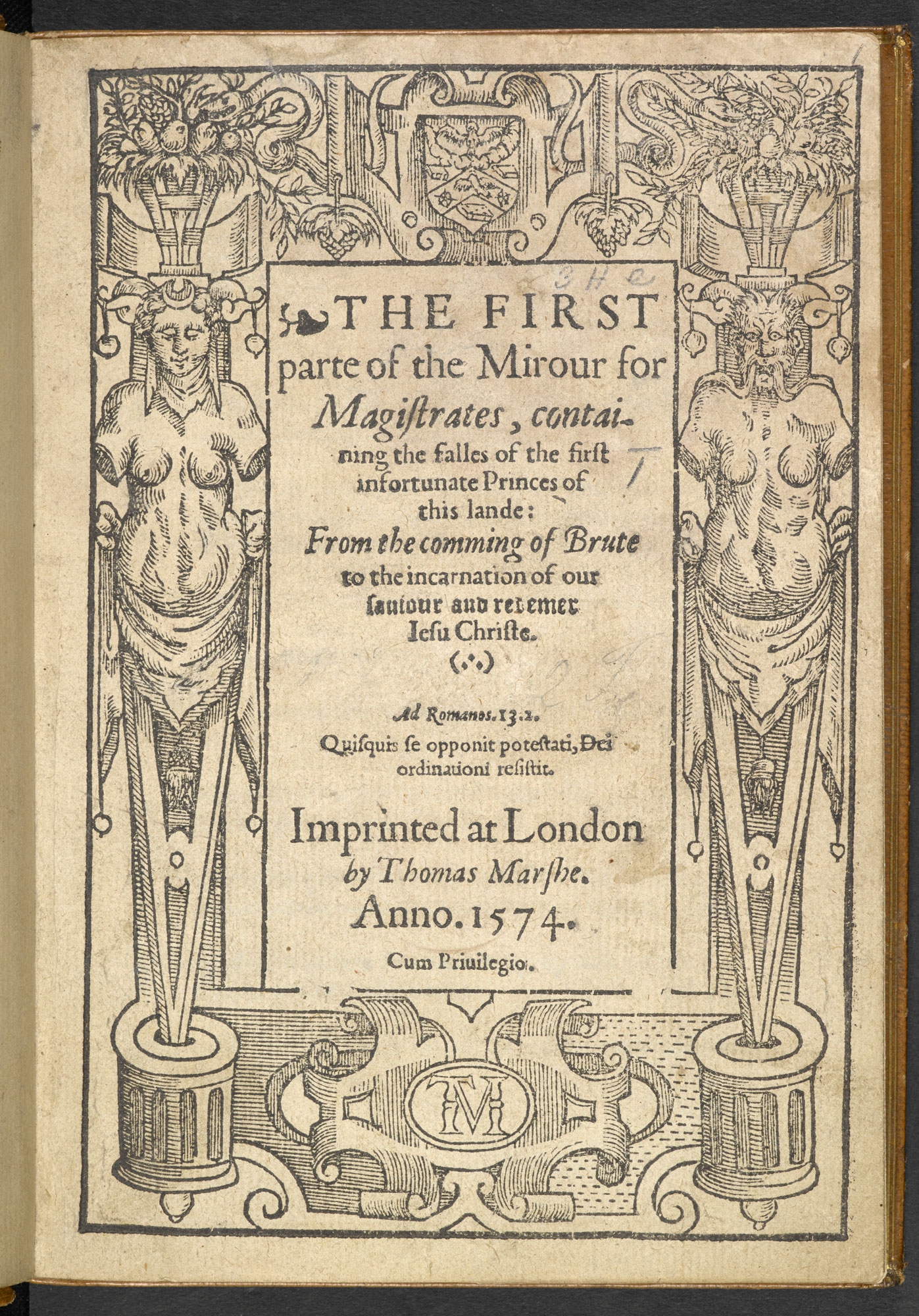 A Mirror for Magistrates, 1574