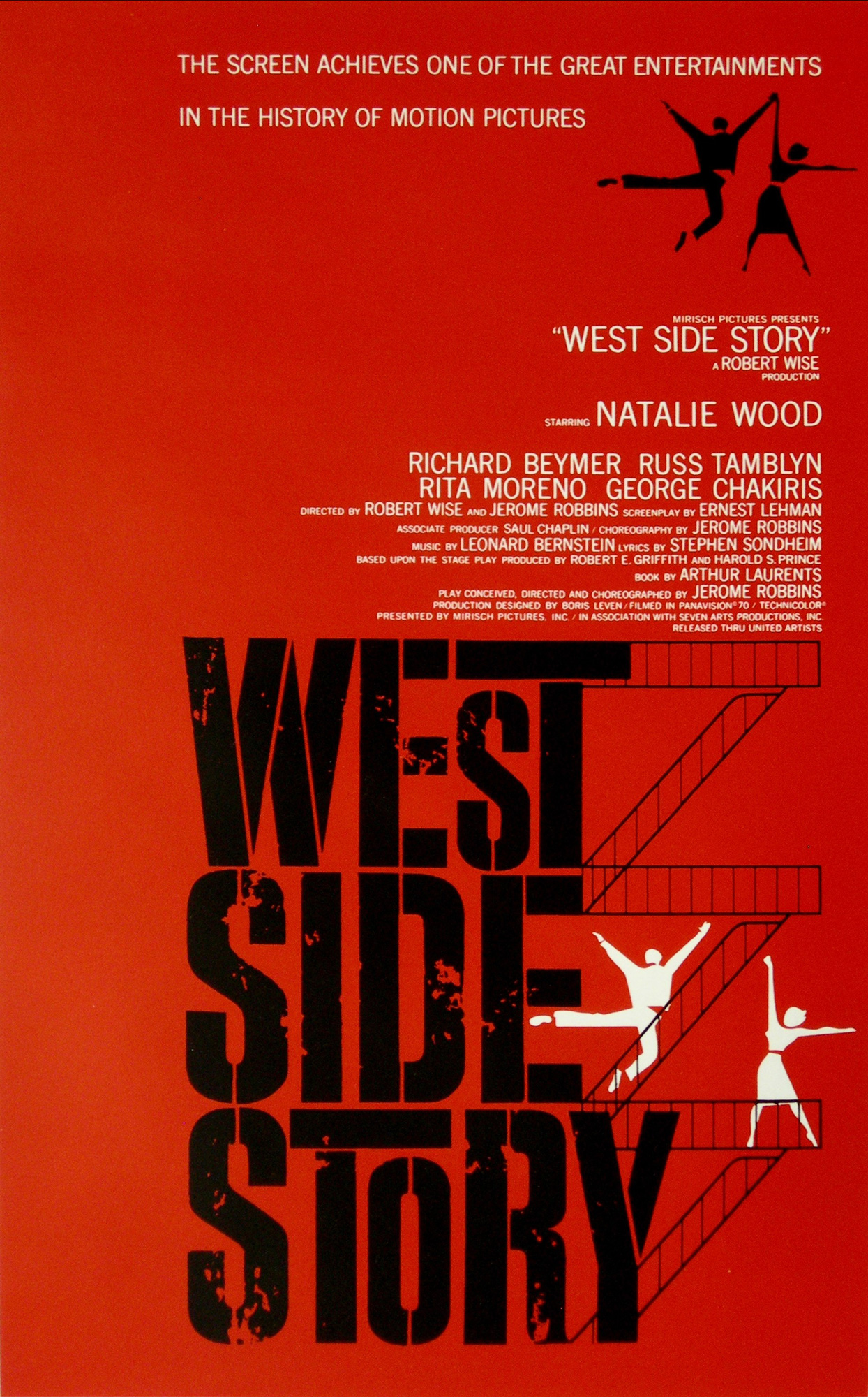 West Side Story film poster - The British Library