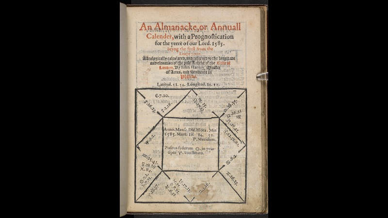 Almanac for 1585
