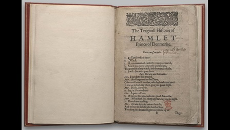 Bad' quarto of Hamlet, 1603