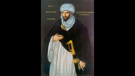 Portrait of the Moorish Ambassador to Queen Elizabeth I