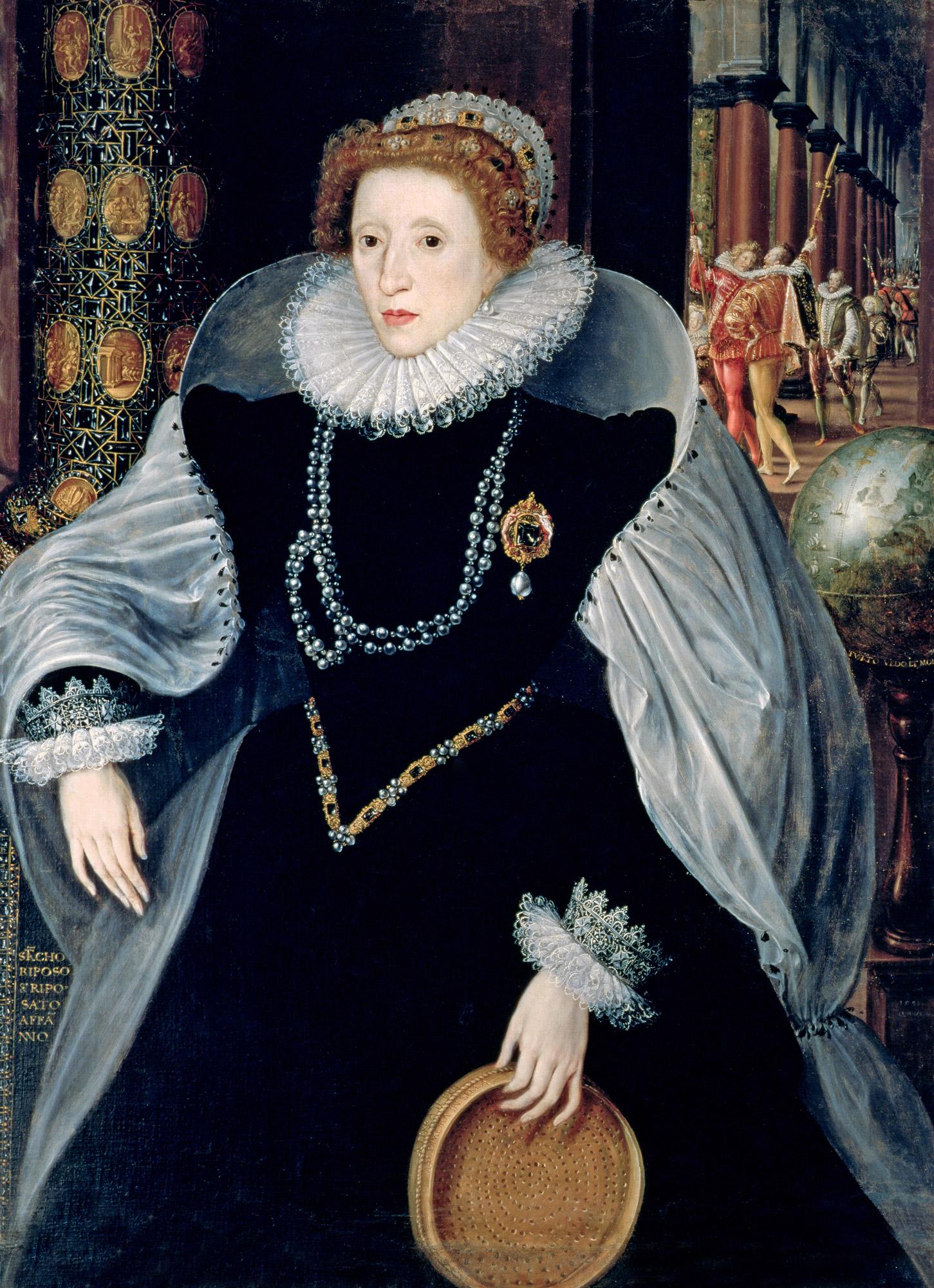 Sieve Portrait of Queen Elizabeth I, c.1583