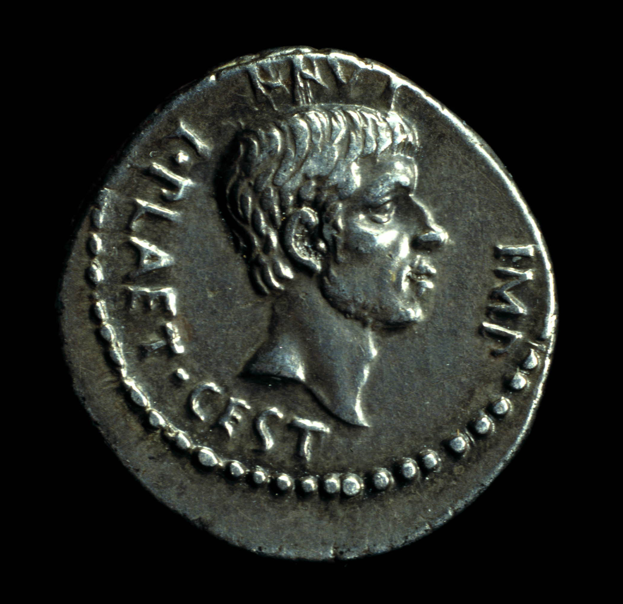 Silver coin commemorating the Ides of March